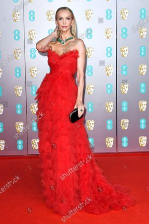 Editorial image of 73rd British Academy Film Awards, Arrivals, Royal Albert Hall, London, UK - 02 Feb 2020