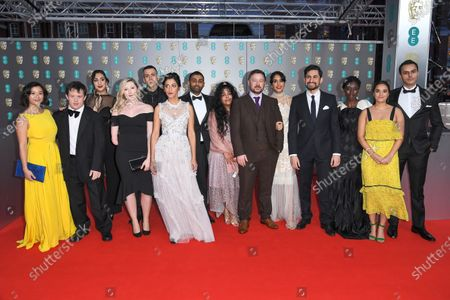 Editorial photo of 73rd British Academy Film Awards, Arrivals, Royal Albert Hall, London, UK - 02 Feb 2020