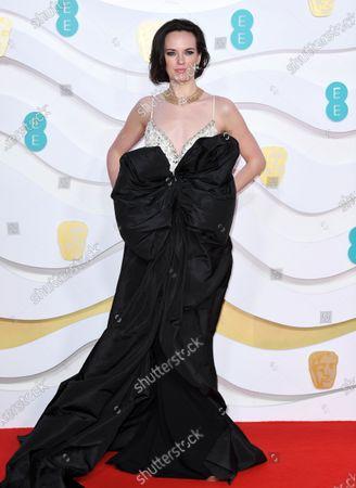 Editorial photo of 73rd British Academy Film Awards, VIP Arrivals, Royal Albert Hall, London, UK - 02 Feb 2020