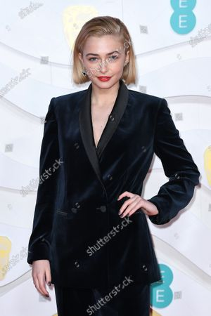 Editorial picture of 73rd British Academy Film Awards, VIP Arrivals, Royal Albert Hall, London, UK - 02 Feb 2020