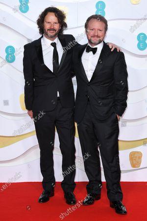 Stock Photo of Ram Bergman and Rian Johnson