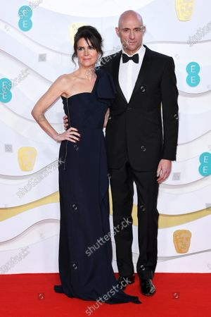 Stock Picture of Liza Marshall and Mark Strong