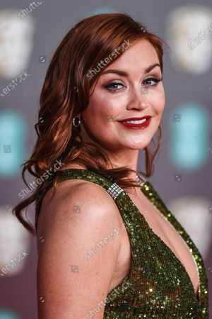 Editorial picture of 73rd British Academy Film Awards, Arrivals, Royal Albert Hall, London, UK - 02 Feb 2020