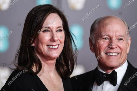 Stock Picture of Kathleen Kennedy and Frank Marshall