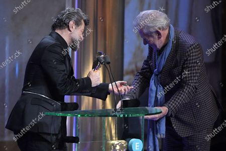 Exclusive - Sir Ian McKellen and Andy Serkis - Outstanding British Contribution to Cinema