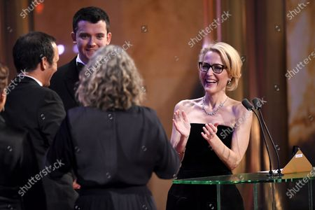 Exclusive - Asa Butterfield and Gillian Anderson
