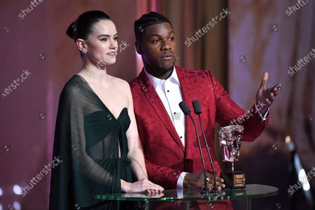 Exclusive - Daisy Ridley and John Boyega