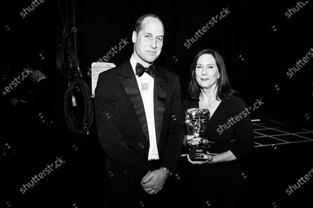 Exclusive - Prince William and Kathleen Kennedy - Fellowship