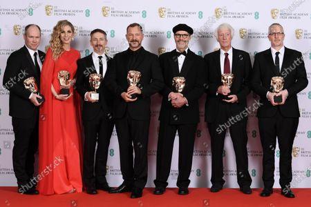 Editorial image of 73rd British Academy Film Awards, Press Room, Royal Albert Hall, London, UK - 02 Feb 2020