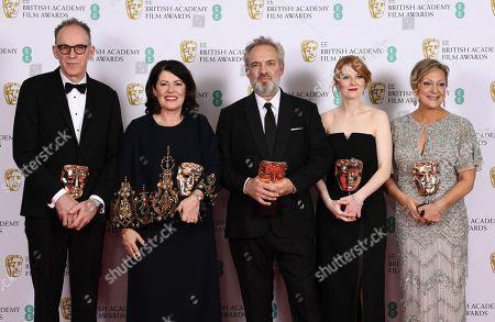 Editorial photo of 73rd British Academy Film Awards, Press Room, Royal Albert Hall, London, UK - 02 Feb 2020