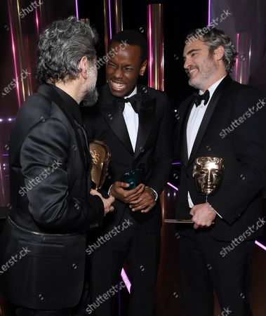 Exclusive - Andy Serkis, Micheal Ward and Joaquin Phoenix