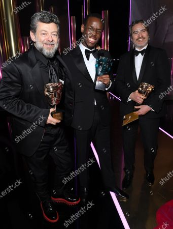 Editorial image of Exclusive - 73rd British Academy Film Awards, Winners on stage, Royal Albert Hall, London, UK - 02 Feb 2020