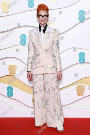 Curated Fashion Highlights 73rd British Academy Film Stock Photos Exclusive Shutterstock