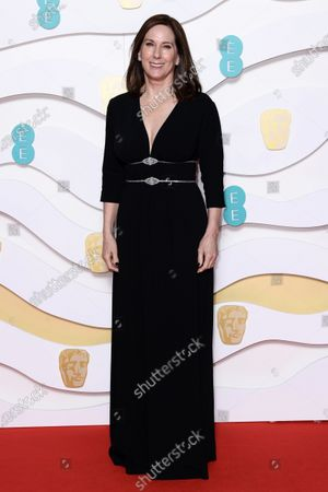 Editorial picture of 73rd British Academy Film Awards, Arrivals, Fashion Highlights, Royal Albert Hall, London, UK - 02 Feb 2020