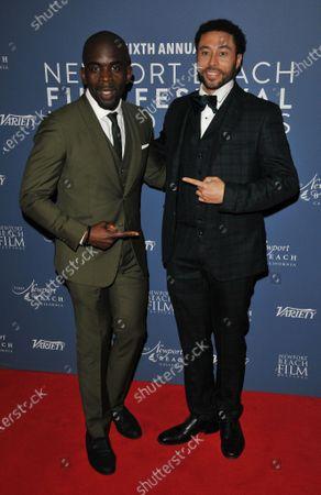 Jimmy Akingbola and Alexis Rodney