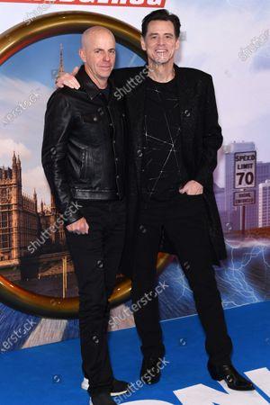 Neal Moritz and Jim Carrey