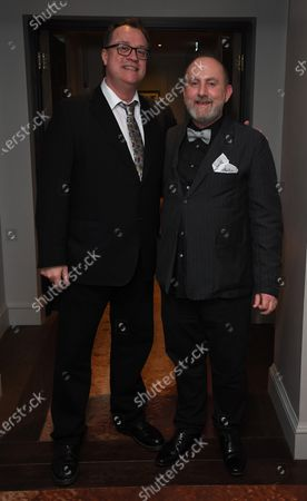 Russell T Davies and Andy Pryor