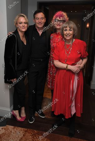Kate Buckley, Jason Isaacs, Pippa Markham and Gillian Hawser