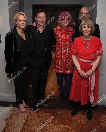 Kate Buckley, Jason Isaacs, Pippa Markham, Eric Fellner and Gillian Hawser