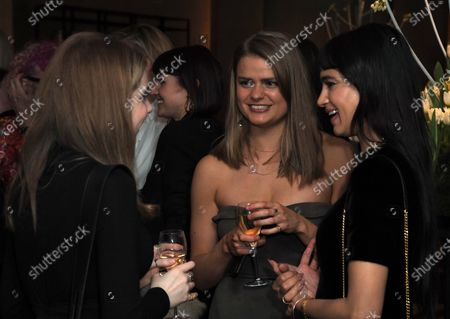 Megan Purvis, Eleanor Worthington Cox and Sofia Boutella