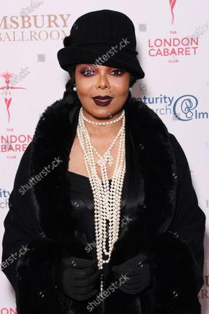 Stock Photo of Janet Jackson