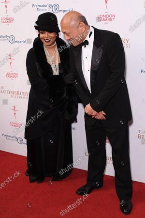 Janet Jackson and Prof. TG Teoh