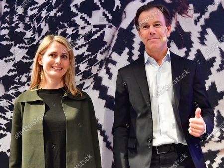 Helena Helmersson, new H&M CEO and Karl Johan Persson, H&M Chairman