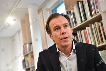 Stock Picture of Karl Johan Persson, H&M Chairman