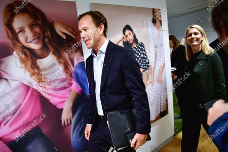 Karl Johan Persson, H&M Chairman and Helena Helmersson, new H&M CEO