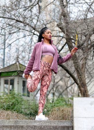 Editorial photo of Keke Palmer out and about, New York, USA - 30 Jan 2020