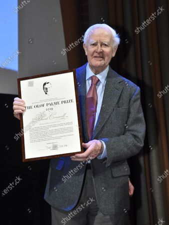 Editorial image of Olof Palme Award 2020, Stockholm, Sweden - 30 Jan 2020