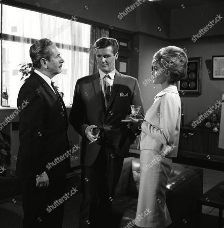 'The Saint' TV - 1963 - The Saint Sees it Through - Carl Duering, Roger Moore, Margit Saad