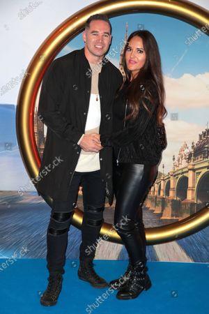 Kieran Hayler and girlfriend Michelle Pentecoste