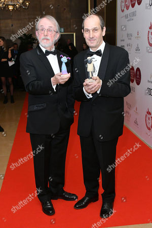 Stock Picture of Peter Lord and David Sproxton