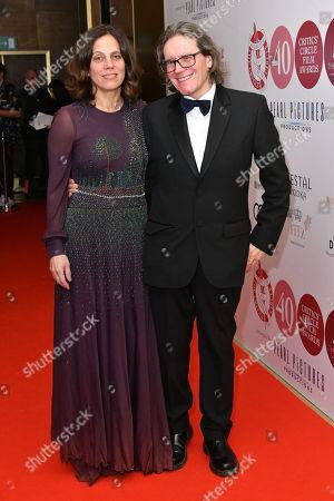 Elizabeth Karlsen and Stephen Woolley