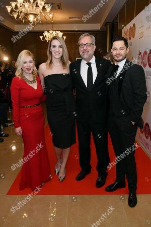 Anna Smith, Hannah Graf, Rich Cline and Jake Graf
