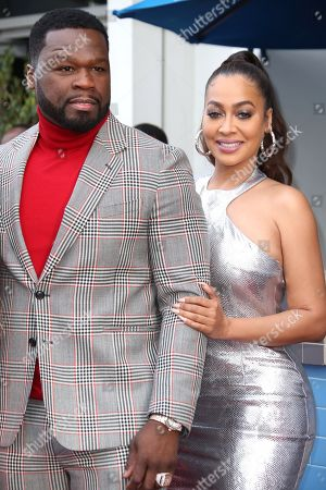 50 Cent and La La Anthony
