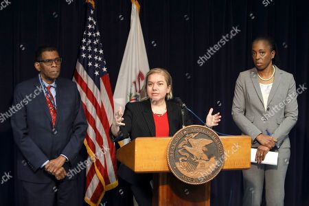 Allison Arwady, Terry Mason, Ngozi Ezike. Dr. Allison Arwady, Commissioner, Chicago Department of Public Health, center, speaks at a news conference, in Chicago, where it was announced that the first U.S. case of person-to-person spread of the new virus from China involves the man married to the Chicago woman who got sick from the virus after she returned from a trip to Wuhan, China. Joining Arwady from left are, Dr. Terry Mason, Cook County Department of Public Health Chief Operating Officer and Dr. Ngozi Ezike, director of the Illinois Department of Public Health