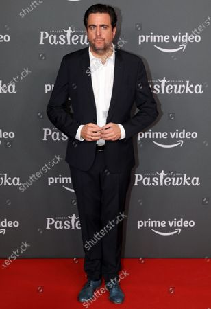 Bastian Pastewka poses on the red carpet for the premiere of the tenth season of 'Pastewka', in Berlin, Germany, 30 January 2020. Pastewka is a German television sitcom that ran initially from 2005 to 2014. German actor Bastian Pastewka stars as a fictionalized version of himself.