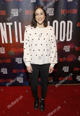 Editorial photo of 'Until the Flood' play, Arrivals, Kirk Douglas Theatre, Culver City, USA - 29 Jan 2020