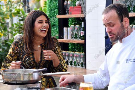 Priyanka Chopra and Greg Marchand