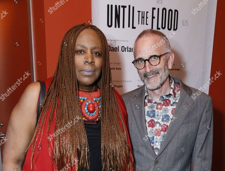 Editorial image of 'Until the Flood' play, After Party, Kirk Douglas Theatre, Culver City, USA - 29 Jan 2020