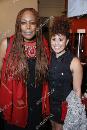 Stock Picture of Dael Orlandersmith and Santana Dempsey