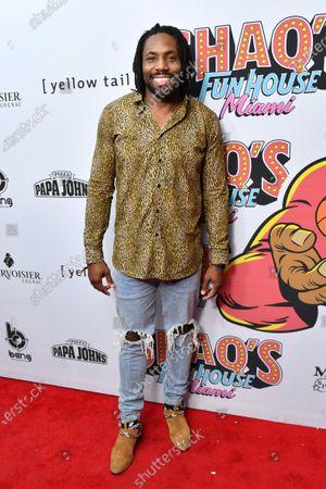 Editorial photo of Shaq's Fun House, Arrivals, Miami, USA - 31 Jan 2020