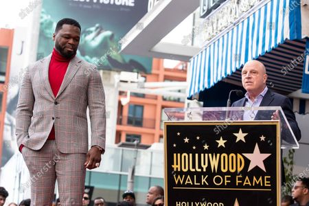Editorial photo of Curtis 50 Cent Jackson honored with a star on the Hollywood Walk of Fame, USA - 30 Jan 2020
