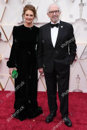 Stock Image of Kate Fahy and Jonathan Pryce