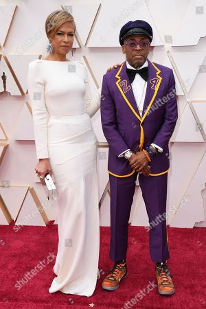 Stock Photo of Tonya Lewis Lee and Spike Lee