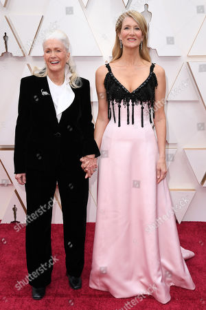 Stock Image of Diane Ladd and Laura Dern