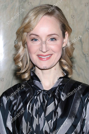 "Erin Davie participates in a ""Diana"" Broadway musical cast special performance at the Lotte New York Palace Hotel, in New York"