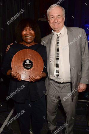 Joan Armatrading and Paul Gambaccini